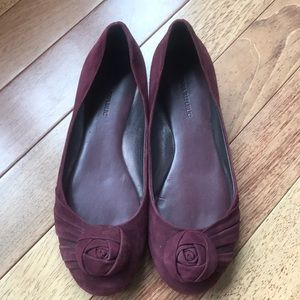 Banana Republic suede flats